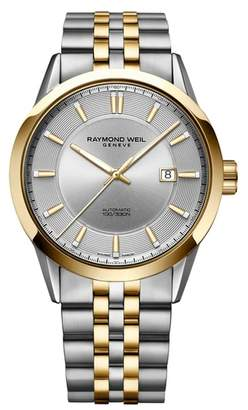 Raymond Weil Freelancer Automatic Bracelet Watch, 43mm