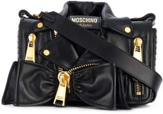 Moschino jacket design shoulder bag