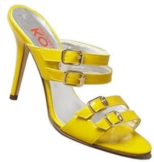 Michael Kors - League Lemon Patent Heel