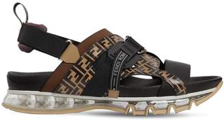 Fendi Logo Sandals W/Air Sole
