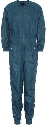 Mallory coated cotton jumpsuit