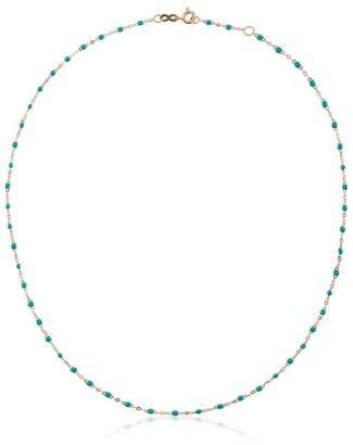 Gigi Clozeau blue 18kt yellow gold beaded necklace
