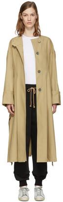 Isabel Marant Beige Slater Trench Coat $885 thestylecure.com