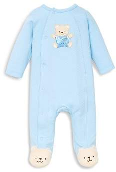 Little Me Boys' Cute Bear Footie - Baby