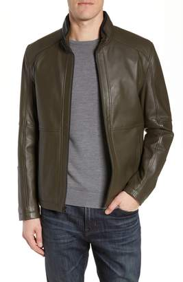 Andrew Marc Wiley Lambskin Leather Jacket