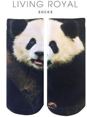LIVING ROYAL Panda Ankle Socks