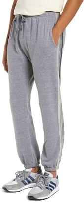 Aviator Nation 5-Stripe Slim Fit Sweatpants