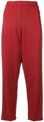 Raquel Allegra cropped high waisted trousers