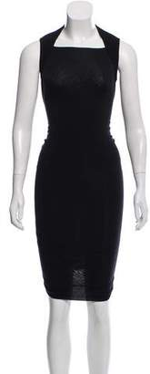 Gareth Pugh Sleeveless Midi Dress