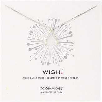 Dogeared GD Wish Large Wishbone Charm Chain Necklace