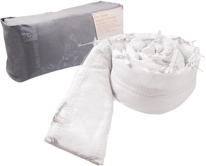 Alma Mini Crib Bumper (Organic Cotton)