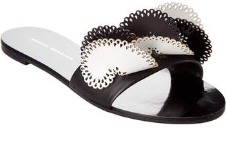 Sophia Webster Soleil Leather Slide Sandal
