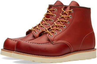 "Red Wing Shoes 8131 Heritage Work 6"" Moc Toe Boot"