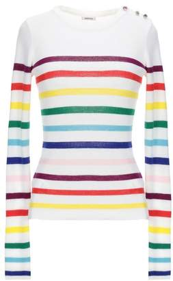 aefef8903b Green And White Striped Jumper - ShopStyle UK