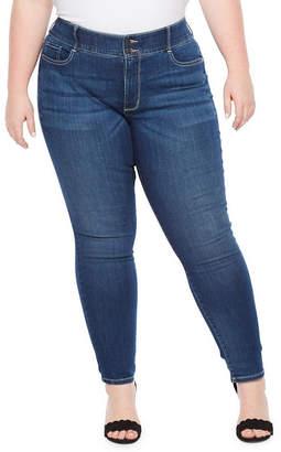 Boutique + Boutique+ Comfort Waist Secretly Slender Skinny Jean- Plus
