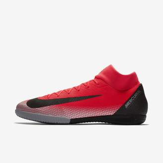 Nike MercurialX Superfly VI Academy CR7 IC Indoor/Court Soccer Shoe