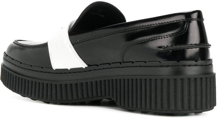Tod's flatform loafers