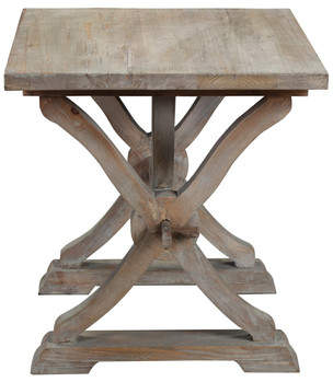 Canterbury of New Zealand One Allium Way Reclaimed Wood End Table