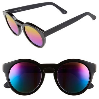 SUNDAY SOMEWHERE 'Kiteys' 49mm Round Sunglasses $290 thestylecure.com
