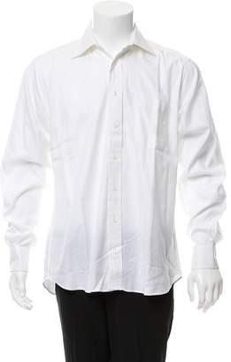 Burberry Woven Button-Up Shirt w/ Tags