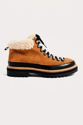 Urban Outfitters Boxer Shearling Hiker Boot