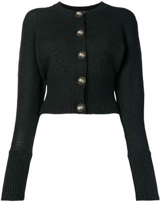 Dolce & Gabbana logo button cardigan
