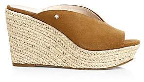 Kate Spade Women's Thea Suede Espadrille Wedged Sandals