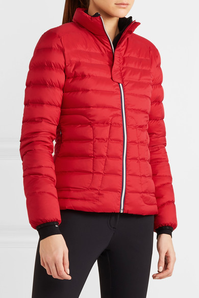 Perfect Moment - Mini Duvet Quilted Down Ski Jacket - Red 4