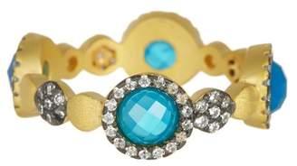 Freida Rothman Baroque Agate Ring