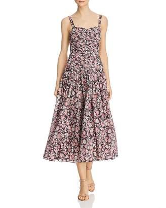Rebecca Taylor Falaise Floral Dress