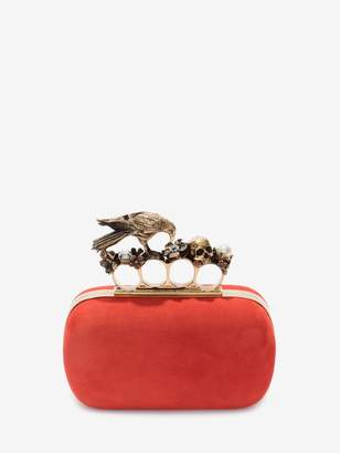 Alexander McQueen Crow Box Clutch