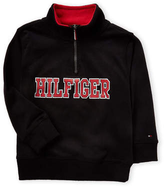 Tommy Hilfiger Toddler Boys) Quarter-Zip Mock Neck Sweatshirt