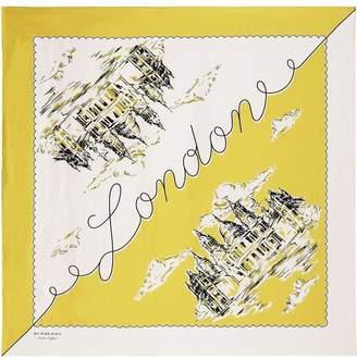 Burberry Print square scarf
