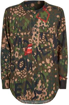 Vivienne Westwood Camouflage Military Shirt