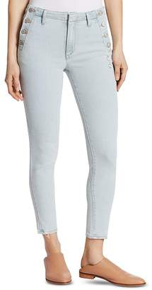 Ella Moss High-Rise Skinny Jeans in Boyd