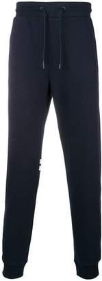 Emporio Armani logo print track pants