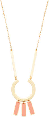 Madewell Beveled Ring Statement Necklace $55 thestylecure.com