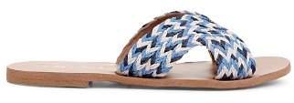 Splendid Women's Sydney Braided Jute Slide Sandals