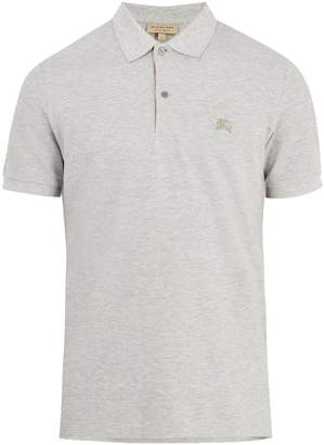 Burberry Oxford cotton-piqué polo shirt