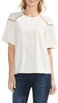 Vince Camuto Lace Trim Blouse