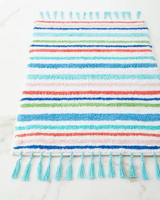 Dena Home Striped Rug with Tassels