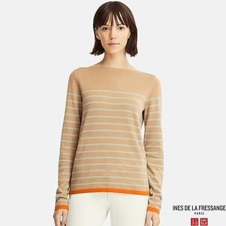 Uniqlo Women's Cashmere Striped Sweater (ines De La Fressange)