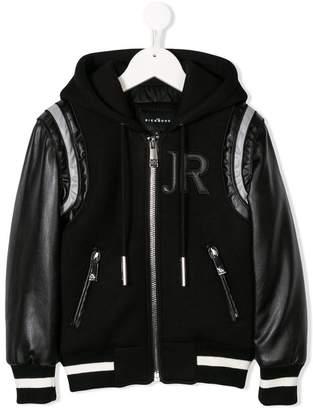 John Richmond Kids full-zipped bomber jacket