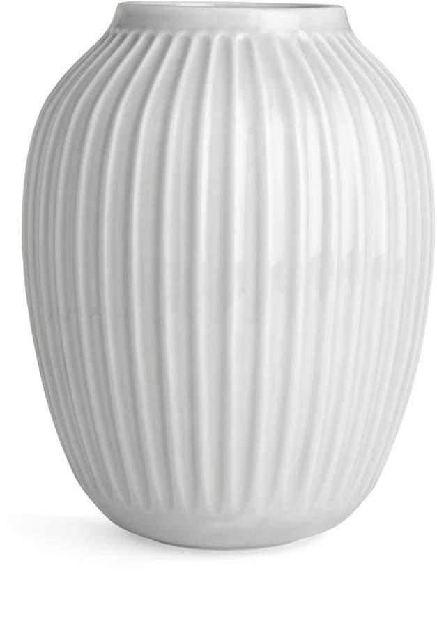 Kähler Design - Hammershøi Vase, H 25 cm / Weiß