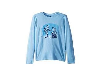 Life is Good Jake and Rocket Acoustic Crusher T-Shirt Long Sleeve (Little Kids/Big Kids)