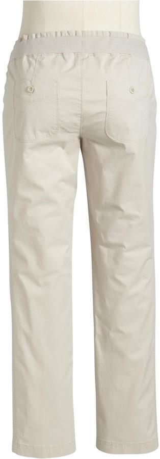 Old Navy Maternity Rib-Waist Twill Pants