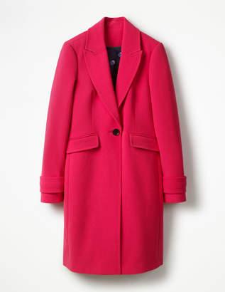 Aileen Coat Pink Women Boden