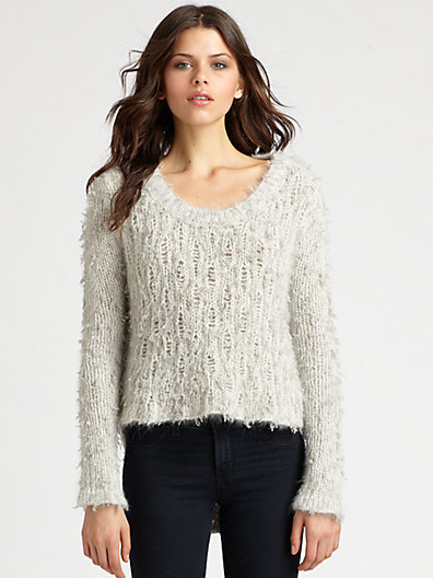 Helmut Lang Angora Floats Pullover