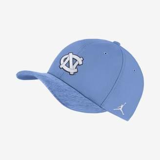 Jordan College Dri-FIT Sideline Swoosh Flex (Michigan) Fitted Hat