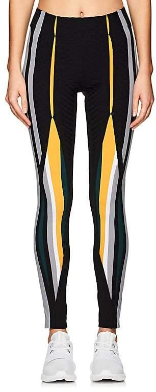 No Ka'Oi Women's Kuke Colorblocked Microfiber Leggings